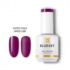 BLUESKY UV GEL POLISH 2021 WEAR CONFIDENCE IN FALL - VOTE YOU! AW2116 15ml